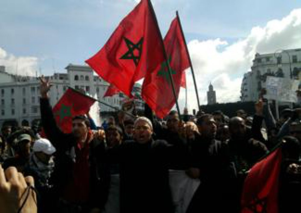 Popular upsurge and political pacts in Morocco