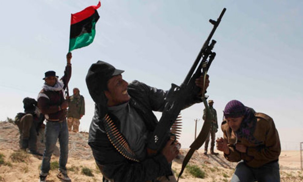 The pitfalls of weaponry: Undermining legitimacy in Libya