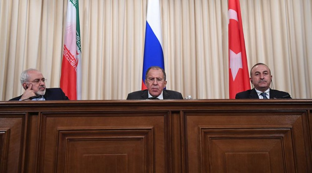 Astana: Russia, Turkey and Iran show a united front on Syria