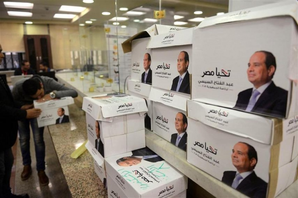 Scripted electoral victory for Egypt's Sisi