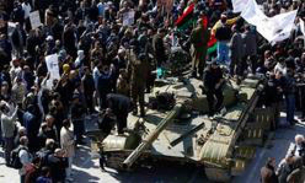 Role of the Libyan army and the anti-Gaddafi revolt