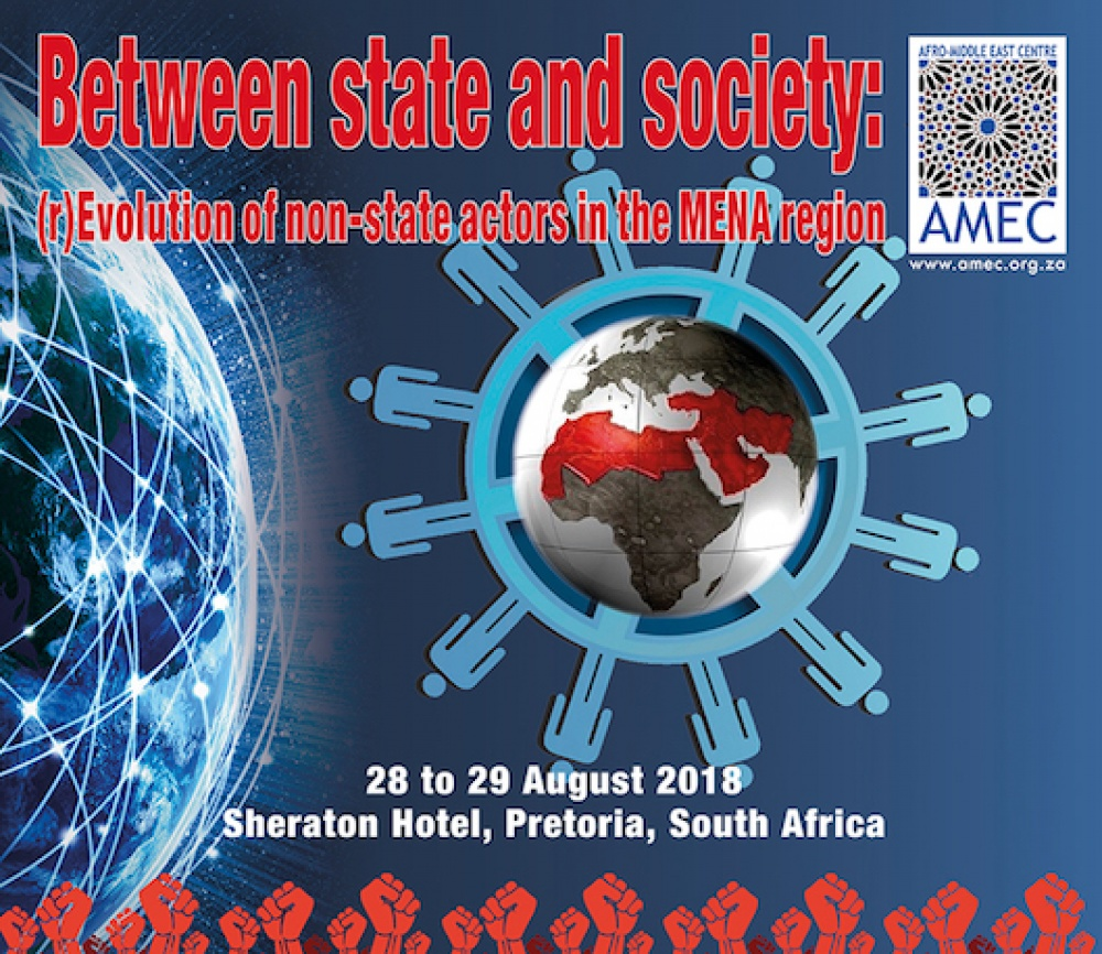 [CONFERENCE] Between state and society: (r)Evolution of non-state actors in the MENA region