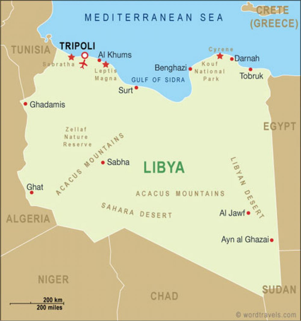 Gaddafi's regime in relation to Libyan tribes